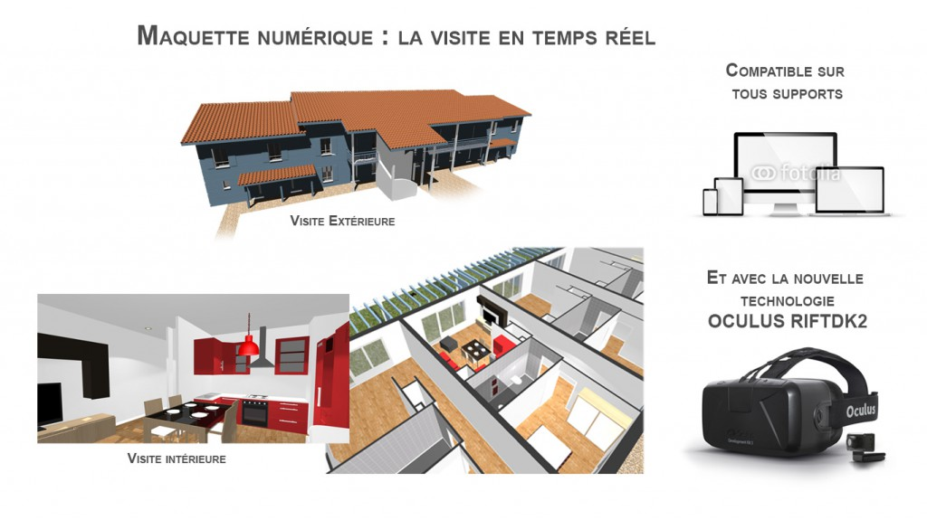 3Dfh.Fr : Modélisation 3D Pour La Promotion Immobilière » Les